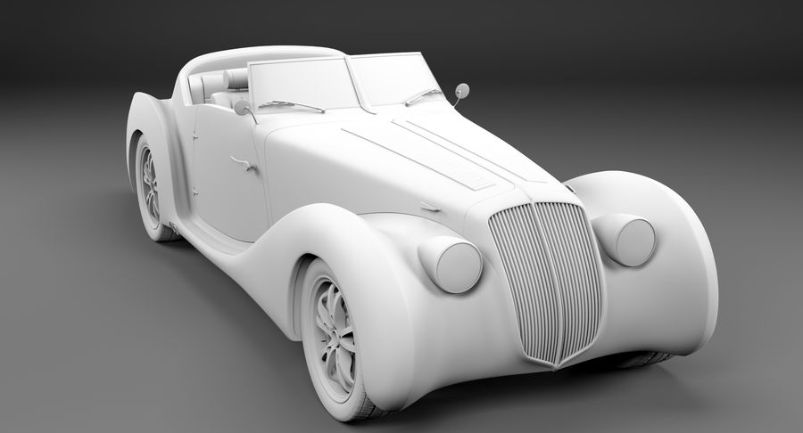 コンセプトカー royalty-free 3d model - Preview no. 50