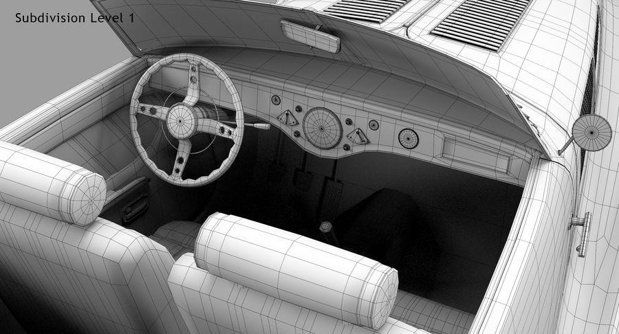 Prototype de voiture royalty-free 3d model - Preview no. 63