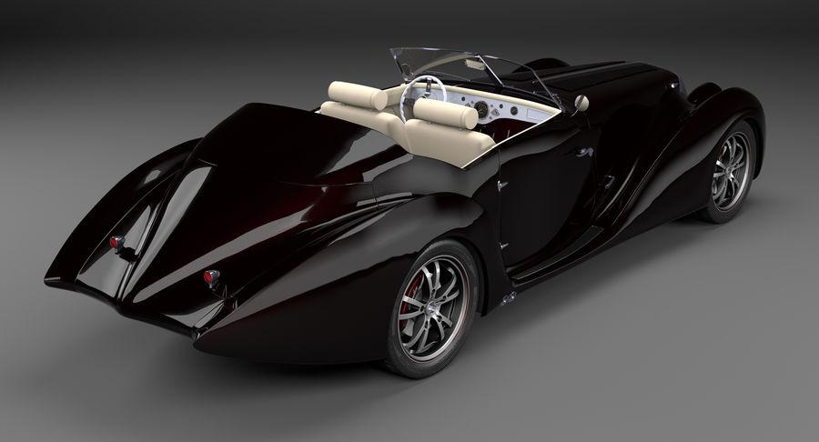 Prototype de voiture royalty-free 3d model - Preview no. 5