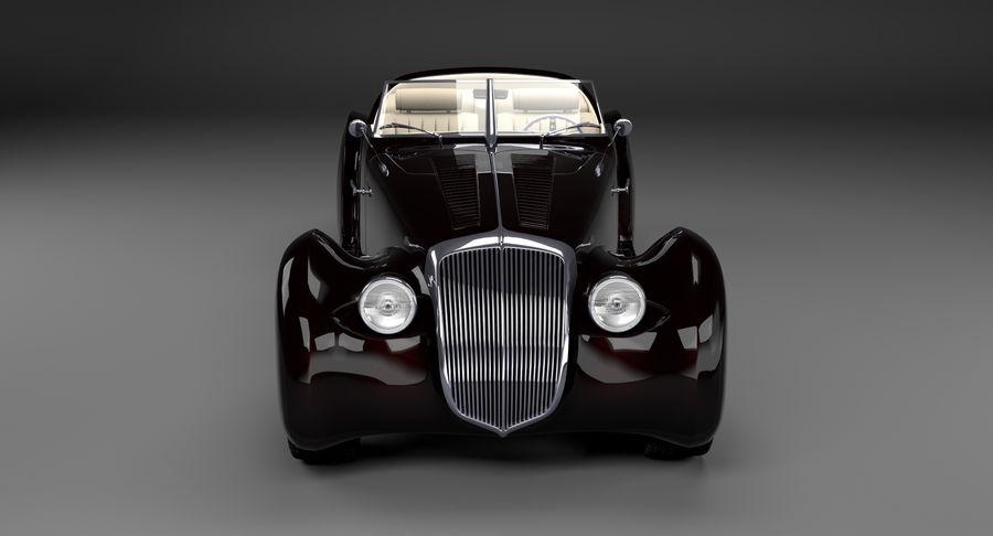 Prototype de voiture royalty-free 3d model - Preview no. 3