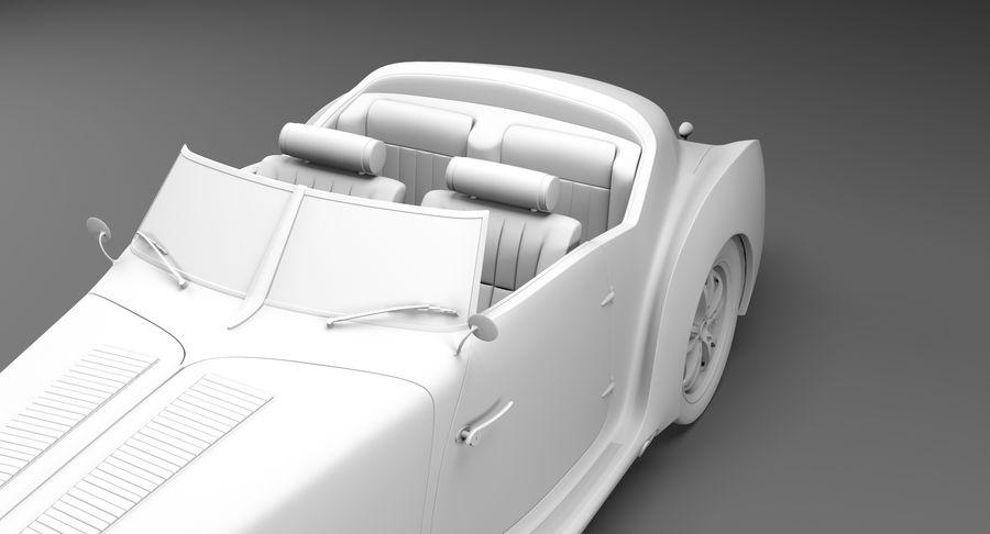 Prototype de voiture royalty-free 3d model - Preview no. 55
