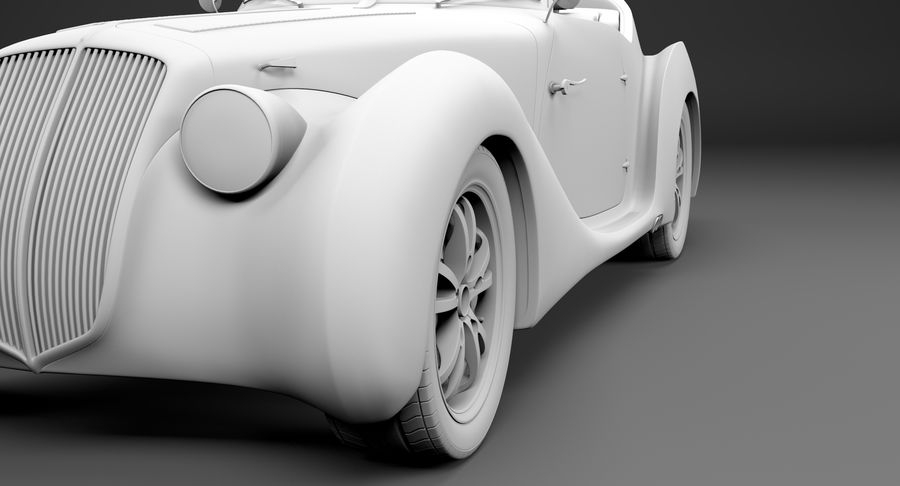 コンセプトカー royalty-free 3d model - Preview no. 43