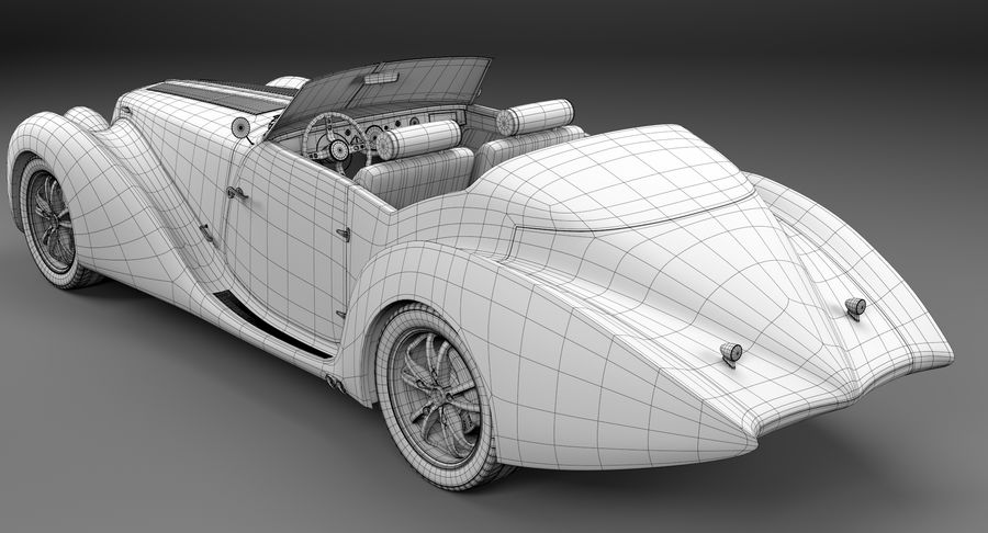 コンセプトカー royalty-free 3d model - Preview no. 22