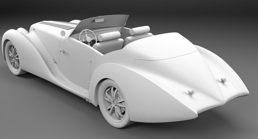 コンセプトカー royalty-free 3d model - Preview no. 40