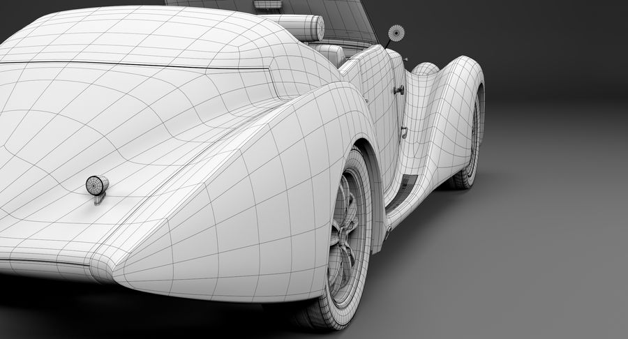 コンセプトカー royalty-free 3d model - Preview no. 26