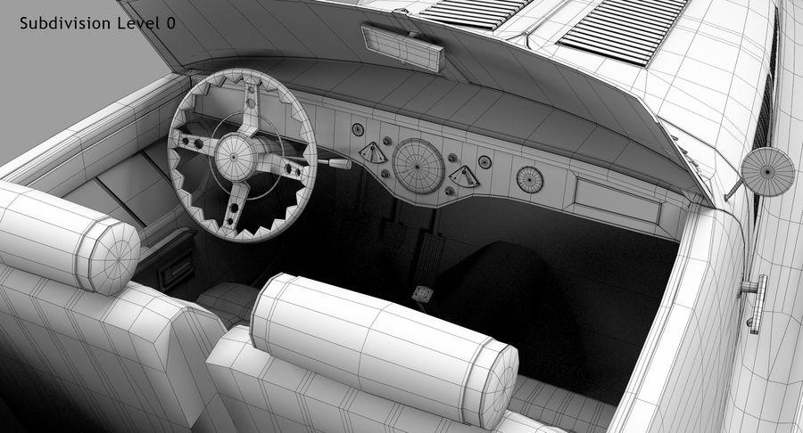 Prototype de voiture royalty-free 3d model - Preview no. 62