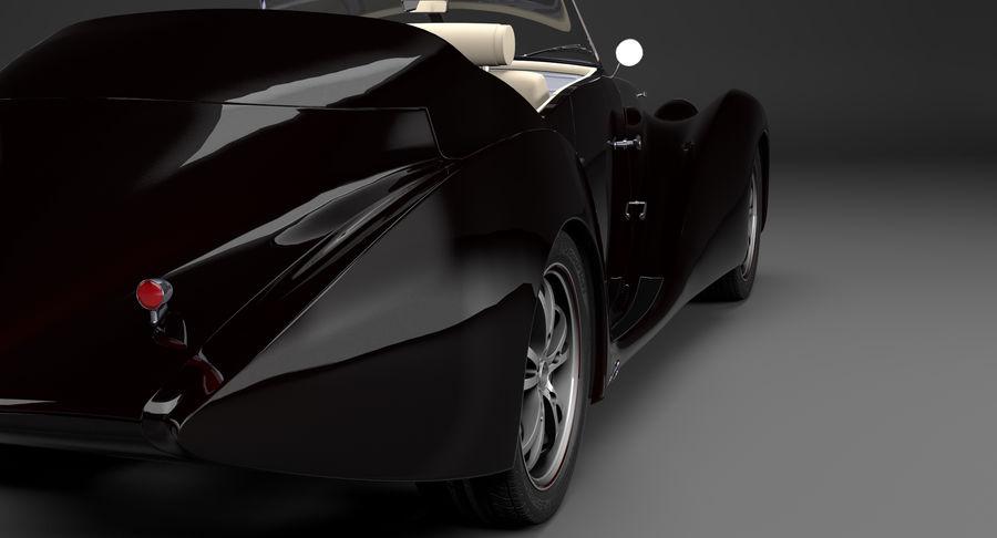 Prototype de voiture royalty-free 3d model - Preview no. 8
