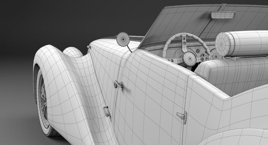 Prototype de voiture royalty-free 3d model - Preview no. 36