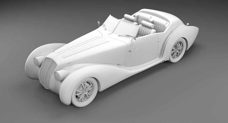 コンセプトカー royalty-free 3d model - Preview no. 45