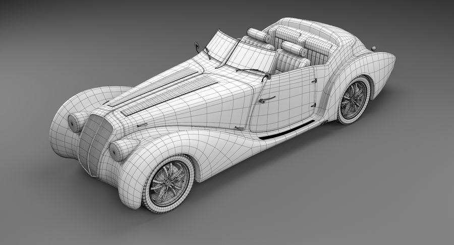Prototype de voiture royalty-free 3d model - Preview no. 27