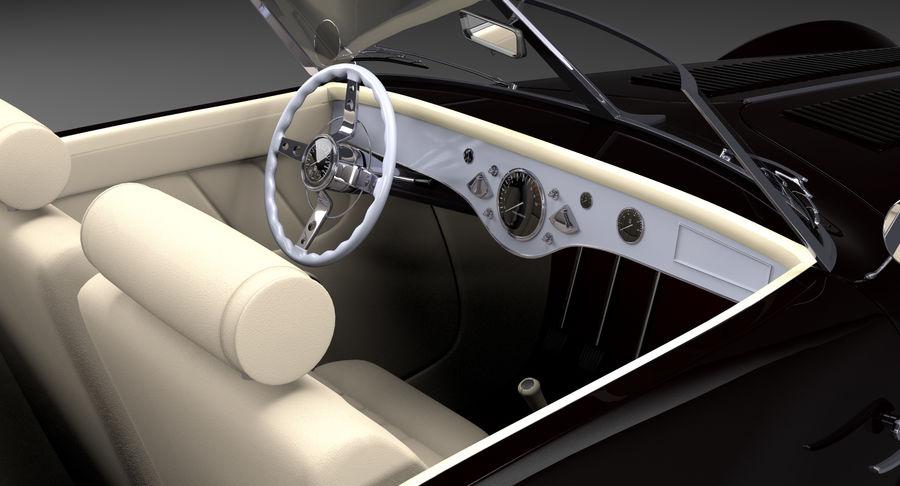 Prototype de voiture royalty-free 3d model - Preview no. 12