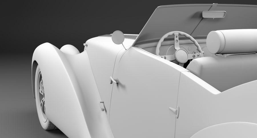 Prototype de voiture royalty-free 3d model - Preview no. 54