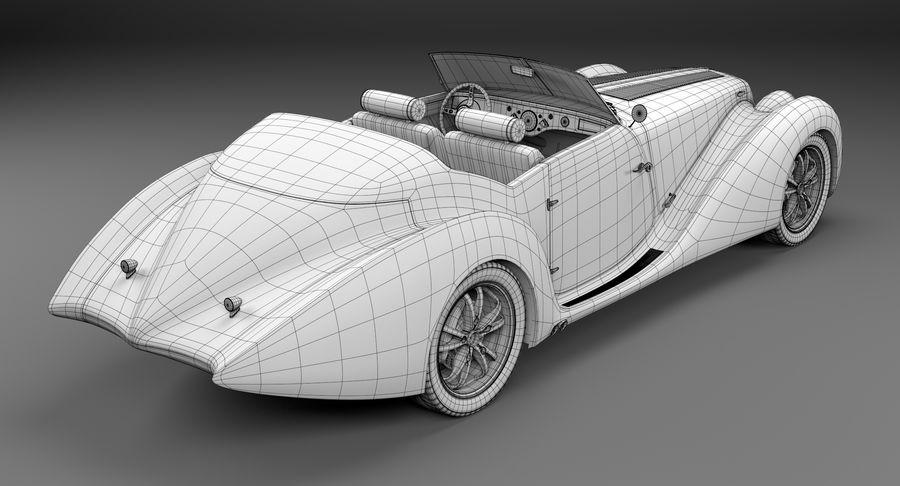 Prototype de voiture royalty-free 3d model - Preview no. 23
