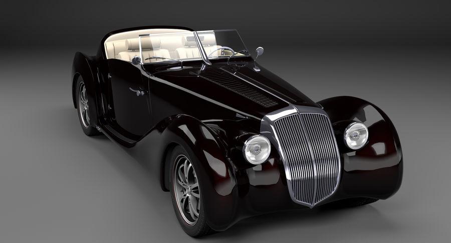 Prototype de voiture royalty-free 3d model - Preview no. 14