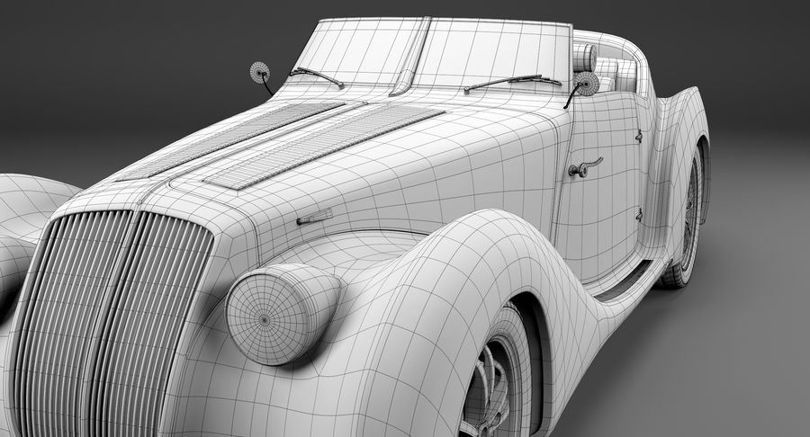 コンセプトカー royalty-free 3d model - Preview no. 31