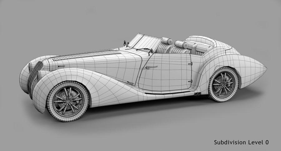 Prototype de voiture royalty-free 3d model - Preview no. 56
