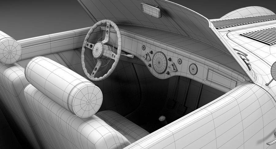 Prototype de voiture royalty-free 3d model - Preview no. 30