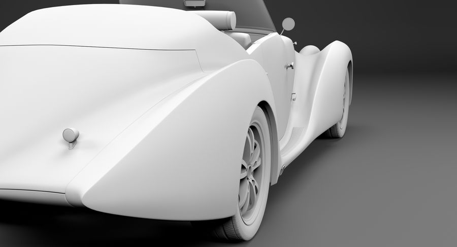 Prototype de voiture royalty-free 3d model - Preview no. 44