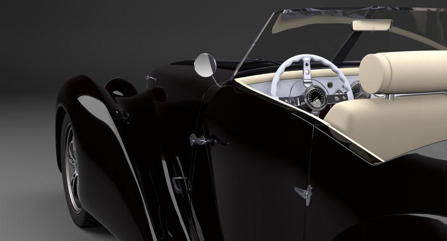 Prototype de voiture royalty-free 3d model - Preview no. 18
