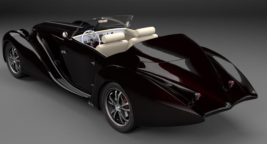 Prototype de voiture royalty-free 3d model - Preview no. 4
