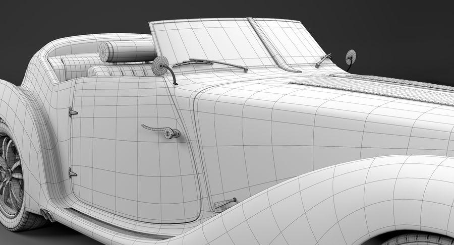 Prototype de voiture royalty-free 3d model - Preview no. 34