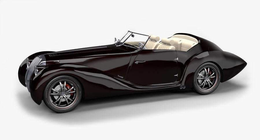 Prototype de voiture royalty-free 3d model - Preview no. 1