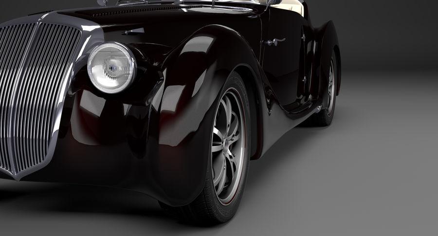 Prototype de voiture royalty-free 3d model - Preview no. 7