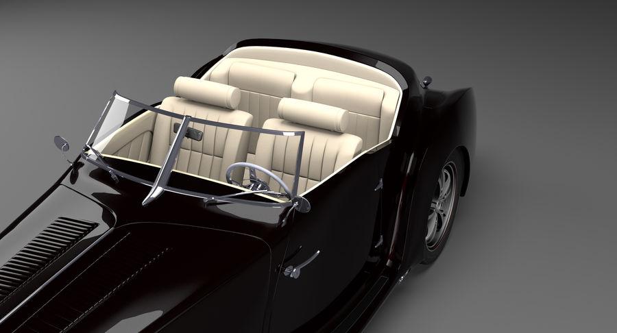 Prototype de voiture royalty-free 3d model - Preview no. 19