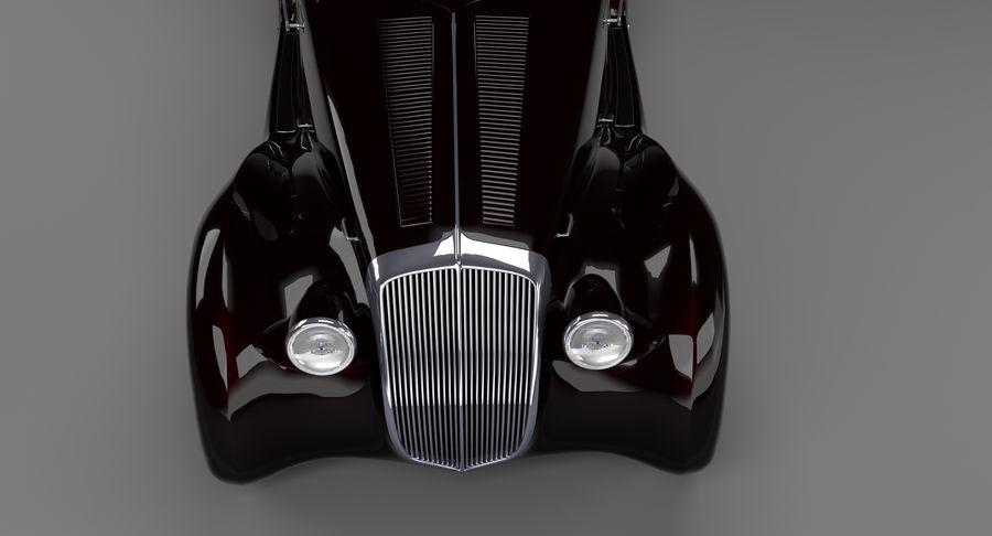 Prototype de voiture royalty-free 3d model - Preview no. 17