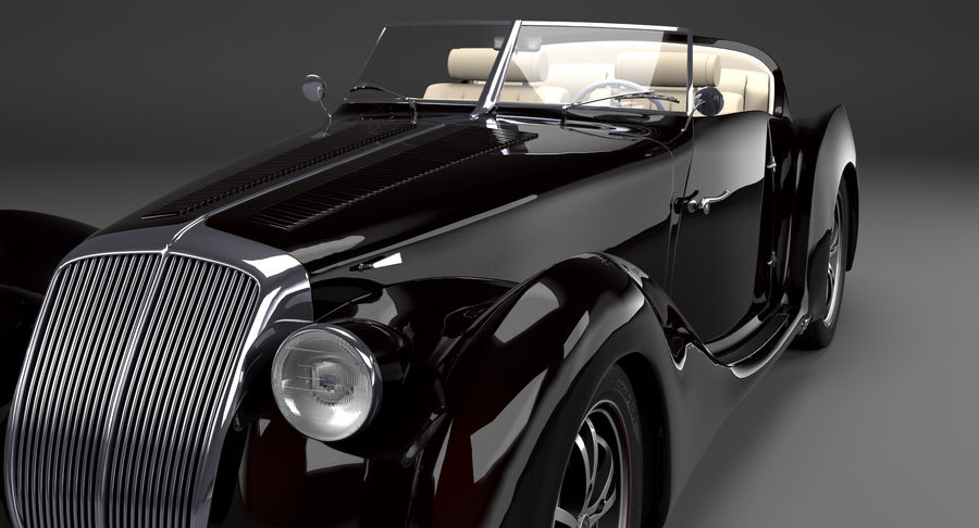 Prototype de voiture royalty-free 3d model - Preview no. 13