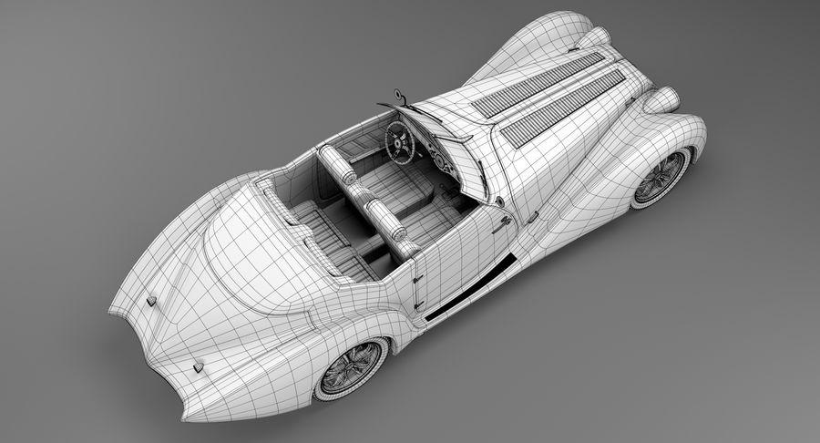 Prototype de voiture royalty-free 3d model - Preview no. 24