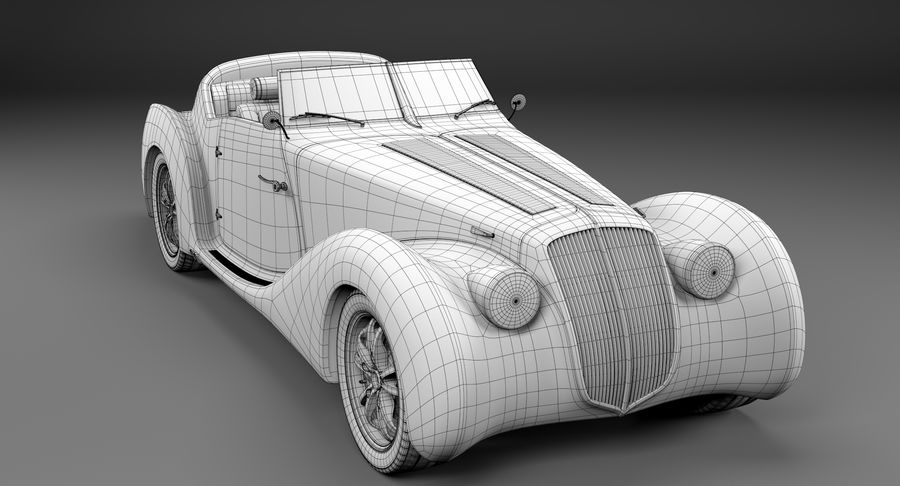 コンセプトカー royalty-free 3d model - Preview no. 32
