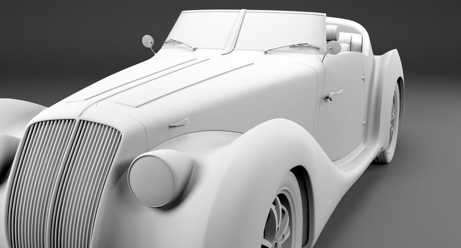 コンセプトカー royalty-free 3d model - Preview no. 49