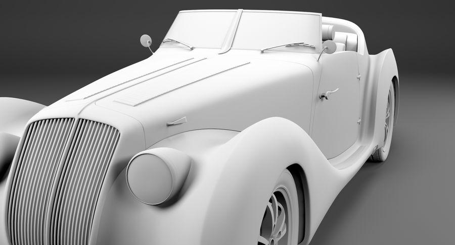 Prototype de voiture royalty-free 3d model - Preview no. 49