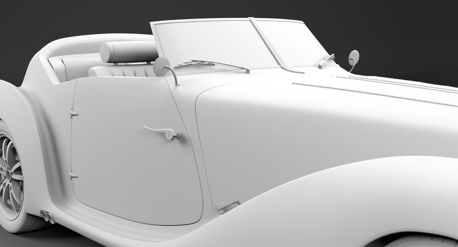 コンセプトカー royalty-free 3d model - Preview no. 52