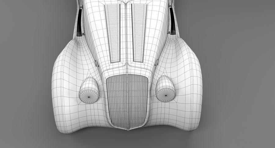 Prototype de voiture royalty-free 3d model - Preview no. 35