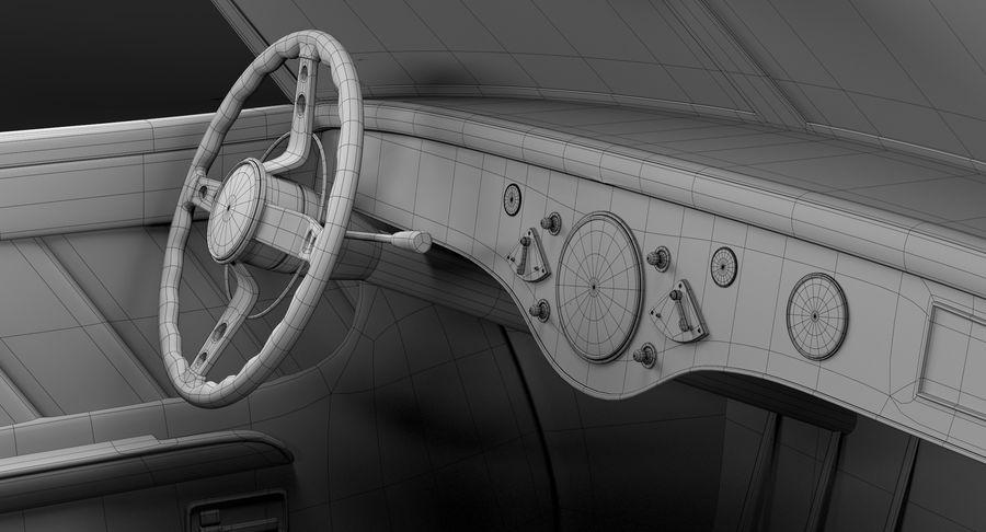 Prototype de voiture royalty-free 3d model - Preview no. 28
