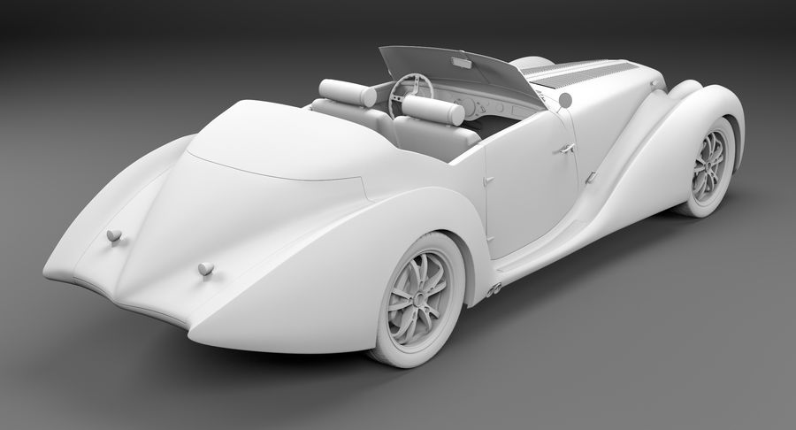 コンセプトカー royalty-free 3d model - Preview no. 41