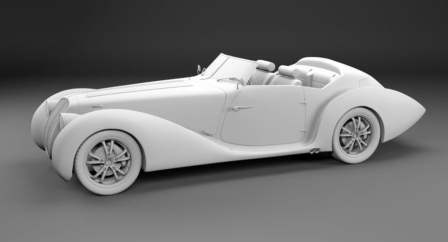 Prototype de voiture royalty-free 3d model - Preview no. 38