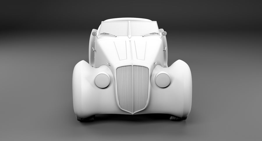 コンセプトカー royalty-free 3d model - Preview no. 39