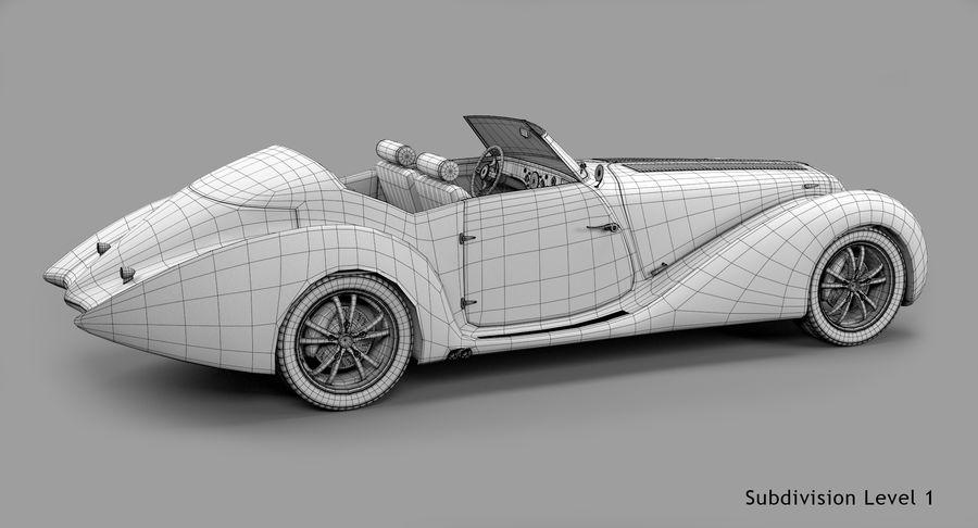Prototype de voiture royalty-free 3d model - Preview no. 60