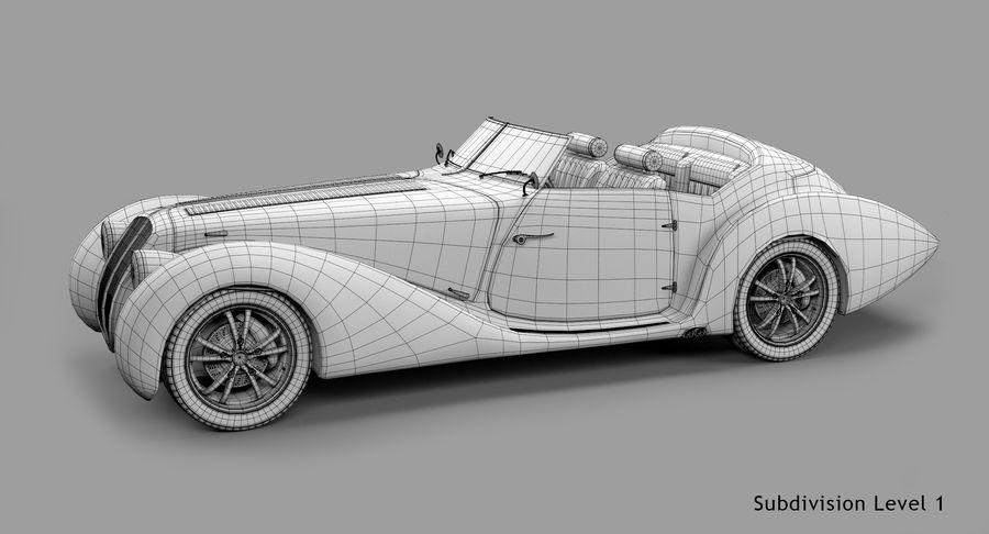Prototype de voiture royalty-free 3d model - Preview no. 57