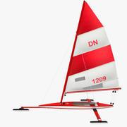 Yacht à glace 3d model