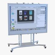 インタラクティブホワイトボードモバイルスタンド 3d model