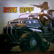 Off Road Rover 3d model