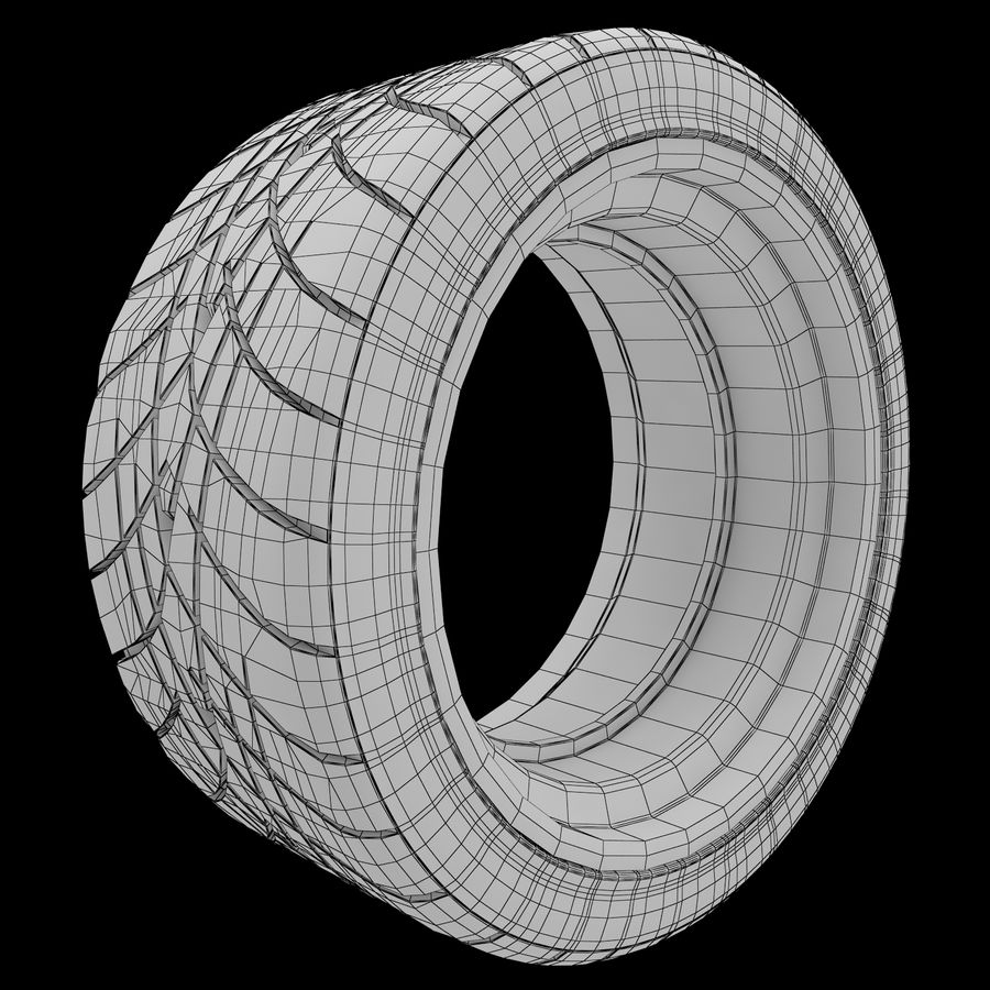 Roue 05C royalty-free 3d model - Preview no. 26