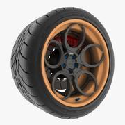 Wheel 05C 3d model