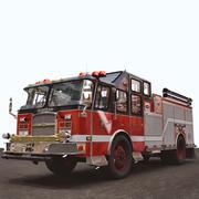 Fire Pumper 3d model