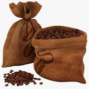 豆の袋コレクション 3d model