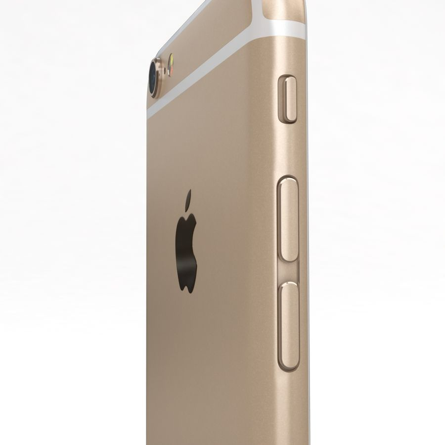 Apple iPhone 6s 모든 색상 royalty-free 3d model - Preview no. 53